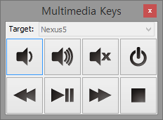 Multimedia-key Input Window
